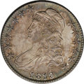 Bust Half Dollars: , 1819 50C MS63 NGC. O-110a, R.3. This later die state has anencircling die crack around most of the reverse periphery. One ...