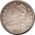 Bust Half Dollars: , 1823 50C Ugly 3 XF45 NGC. O-110a, R.3. Whoever tried to improve the3 in the date by crude repunching did it no favors, sin...