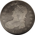 Bust Half Dollars: , 1824/1 50C Good 6 NGC. O-102, High R.5. There are still scanttraces of the overdate present on this Good 6 coin. Traces al...