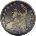 Bust Half Dollars: , 1825 50C Fine 12 NGC. O-109, R.5. The 8 and 2 are close on thisvariety, with a long, sharp point on the loop of the 2. On ...