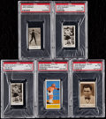 Boxing Cards:General, 1930-33 Boxing Jack Dempsey PSA Graded Collection (5)....