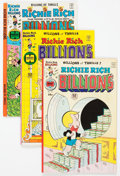 Bronze Age (1970-1979):Cartoon Character, Richie Rich Billions File Copy Short Box Group (Harvey, 1976-82)Condition: NM-....
