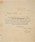 Miscellaneous, William S. Fisher Signed Surgeon's Appointment. ...