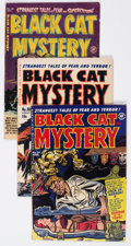 Golden Age (1938-1955):Horror, Black Cat Related Group of 6 (Harvey, 1950s) Condition: AverageVG-.... (Total: 6 Comic Books)