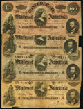 Confederate Notes:Group Lots, Confederate Group Lot.. ... (Total: 65 notes)
