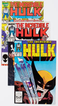 Modern Age (1980-Present):Superhero, The Incredible Hulk Group of 36 (Marvel, 1985-89) Condition:Average NM-.... (Total: 36 Comic Books)