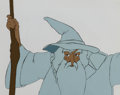 Animation Art:Production Cel, The Lord of the Rings Gandalf Production Cel (Ralph Bakshi,1978)....