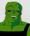 Animation Art:Production Cel, The Incredible Hulk The Leader/Hulk Production Cel andAnimation Drawing (Marvel Films, 1995).... (Total: 2 )