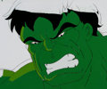 Animation Art:Production Cel, The Incredible Hulk Close-Up Production Cel (Marvel Films,1995).... (Total: 2 )