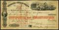 Confederate Notes:Group Lots, C.T. Jones Signed San Francisco, CA- Treasury of the United StatesSecond Transfer $10,000 July 17, 1858. ...