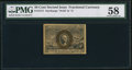 Fractional Currency:Second Issue, Fr. 1317 50¢ Second Issue PMG Choice About Unc 58.. ...