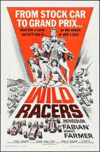 "Wild Racers (American International, 1968). One Sheet (27"" X 41""). Sports"