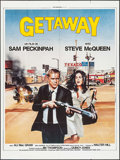 "Movie Posters:Action, The Getaway (Nef, R-1985). French Grande (47.25"" X 63""). Action....."