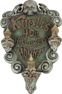 """Halloween Haunt"" Wall Display and Banner Group (2014).... (Total: 7 Items)"