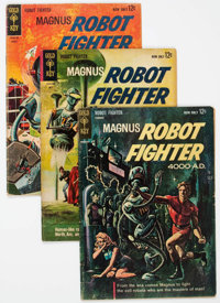 Magnus Robot Fighter Group of 45 (Gold Key, 1963-77) Condition: Average VG.... (Total: 45 Comic Books)