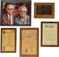 Memorabilia:Miscellaneous, Walter Knott Awards and Citations Group of 22 (c. 1960s-70s)....(Total: 22 Items)