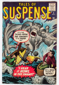 Silver Age (1956-1969):Horror, Tales of Suspense #6 (Marvel, 1959) Condition: FN-....