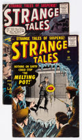Silver Age (1956-1969):Science Fiction, Strange Tales #63 and 64 Group (Atlas, 1958) Condition: AverageVG/FN.... (Total: 2 Comic Books)