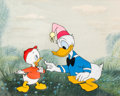 Animation Art:Production Cel, Donald Duck Production Cel (Walt Disney, undated)....