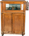 """Memorabilia:Miscellaneous, """"The Derby"""" Model Coin-Op Player Piano (Western Electric, c. 1920s)...."""