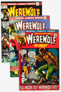 Bronze Age (1970-1979):Horror, Werewolf by Night Group of 42 (Marvel, 1972-77) Condition: AverageFN.... (Total: 42 Comic Books)