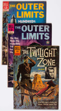 Silver Age (1956-1969):Horror, Twilight Zone/Outer Limits Group of 16 (Dell, 1962-69) Condition:Average VG.... (Total: 16 Comic Books)