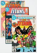 Modern Age (1980-Present):Superhero, New Teen Titans/Tales of the Teen Titans Group of 79 (DC, 1980-87)Condition: Average FN/VF.... (Total: 79 Comic Books)