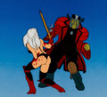 Animation Art:Production Cel, Heavy Metal Taarna Production Cel Setup (Columbia, 1981)....