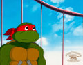 Animation Art:Production Cel, Teenage Mutant Ninja Turtles Raphael Production Cel Setup(Murakami Wolf Swenson, 1991). ...