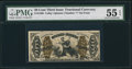 Fractional Currency:Third Issue, Fr. 1368 50¢ Third Issue Justice PMG About Uncirculated 55 EPQ.. ...