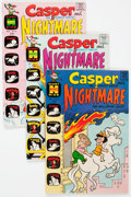 Bronze Age (1970-1979):Cartoon Character, Casper and Nightmare File Copies Group of 9 (Harvey, 1969-72)Condition: Average VF/NM.... (Total: 9 Comic Books)