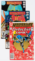 Modern Age (1980-Present):Superhero, Detective Comics Box Lot (DC, 1983-91) Condition: Average VF....