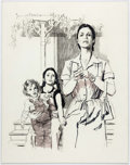 Original Comic Art:Miscellaneous, Jon Whitcomb - Working Mother Preliminary Illustration Original Art(c. 1960s)....