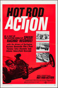 """Movie Posters:Sports, Hot Rod Action (Cinerama Releasing, 1969). One Sheet (27"""" X 41"""") & Lobby Card Set of 8 (11"""" X 14"""" ). Sports.. ... (Total: 9 Items)"""