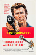 "Movie Posters:Crime, Thunderbolt and Lightfoot (United Artists, 1974). International OneSheet (27"" X 41""). Crime.. ..."