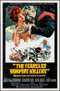 "Movie Posters:Comedy, The Fearless Vampire Killers (MGM, 1967). One Sheet (27"" X 41"")Style B. Comedy.. ..."