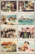 "Movie Posters:Adventure, Atlantis, the Lost Continent (MGM, 1961). Lobby Card Set of 8 (11""X 14""). Adventure.. ... (Total: 8 Items)"