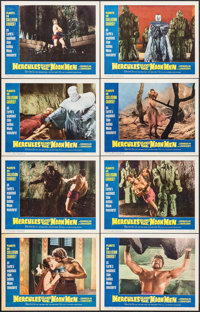 """Hercules Against the Moon Men (Governor Films, 1965). Lobby Card Set of 8 (11"""" X 14""""). Fantasy. ... (Total: 8..."""