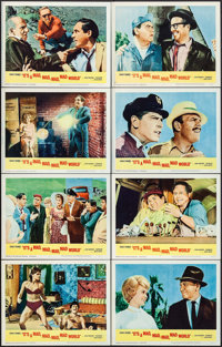 """It's a Mad, Mad, Mad, Mad World (United Artists, 1963). Lobby Card Set of 8 (11"""" X 14""""). Comedy. ... (Total: 8..."""