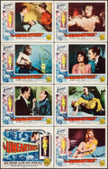 """Movie Posters:Science Fiction, The Unearthly (Republic, 1957). Lobby Card Set of 8 (11"""" X 14"""").Science Fiction.. ... (Total: 8 Items)"""