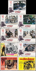 "Movie Posters:Exploitation, The Wild Angels & Others Lot (American International, 1966). Lobby Cards (15) (11"" X 14""). Exploitation.. ... (Total: 15 Items)"