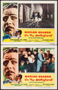 "Movie Posters:Academy Award Winners, On the Waterfront (Columbia, 1954). Lobby Cards (2) (11"" X 14""). Academy Award Winners.. ... (Total: 2 Items)"