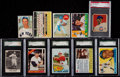 Baseball Cards:Lots, 1949-69 Multi-Brand Baseball Collection (10)....