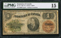 Canadian Currency: , DC-10 $4 1882.. ...
