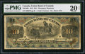 Canadian Currency: , Winnipeg, MB- Union Bank of Canada $10 July 1, 1912 Ch. #730-16-08.. ...