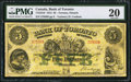 Canadian Currency: , Toronto, ON- Bank of Toronto $5 Jan. 1, 1912 Ch. # 715-22-10.. ...