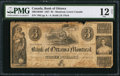 Canadian Currency: , Montreal, LC- Bank of Ottawa $3 Jan. 4, 1838 Ch. # 560-12-04-04.....