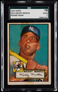 Baseball Cards:Singles (1950-1959), 1952 Topps Mickey Mantle #311 SGC 10 Poor 1....