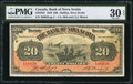 Canadian Currency: , Halifax, NS- The Bank of Nova Scotia $20 January 2, 1929 Ch. #550-28-22.. ...