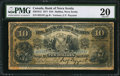 Canadian Currency: , Halifax, NS- The Bank of Nova Scotia $10 Jan. 2, 1917 Ch. #550-18-12.. ...
